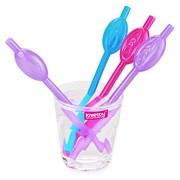 """Трубочки для напитков в виде вагины Lovetoy """"Pussy Straws"""" 9шт., Color"""