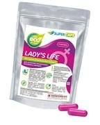 Средство возбуждающее для женщин Lady's Life 2 капсулы