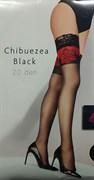 Чулки с силиконовыми полосками chibuezea black
