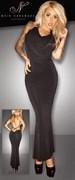 Длинное платье Noir Handmade