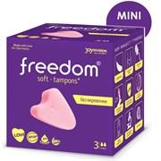 Тампоны женские mini гигиенические FREEDOM 3 шт