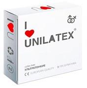 Ультратонкие презервативы Unilatex Natural Ultrathin  №3